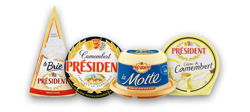 Président products visual